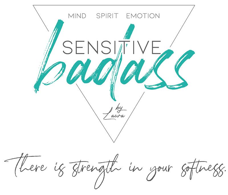 Logo Sensitive Badass Laura Licker