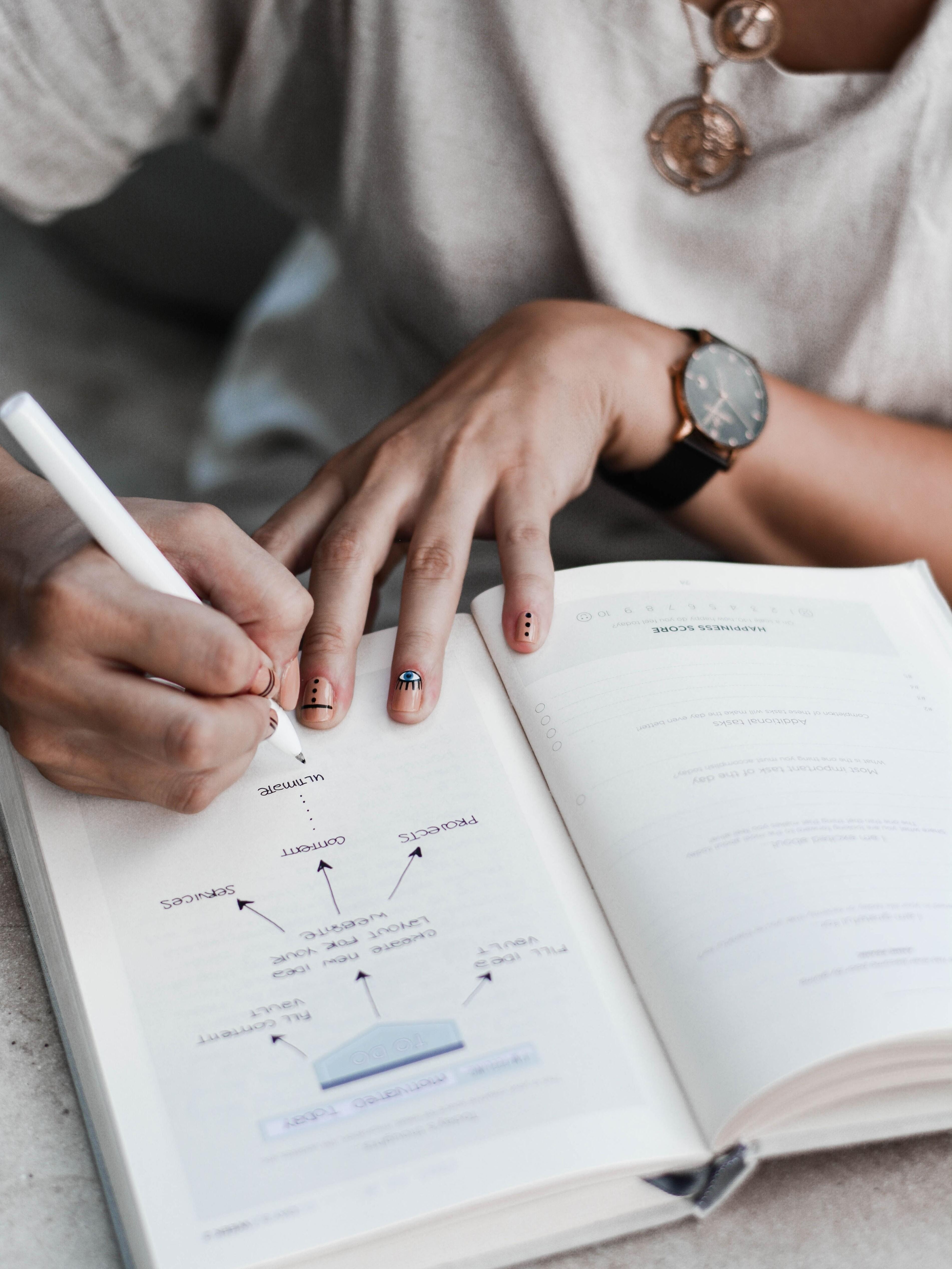 5  Tools, wie du mit Schreiben geheilter, bewusster und effektiver wirst
